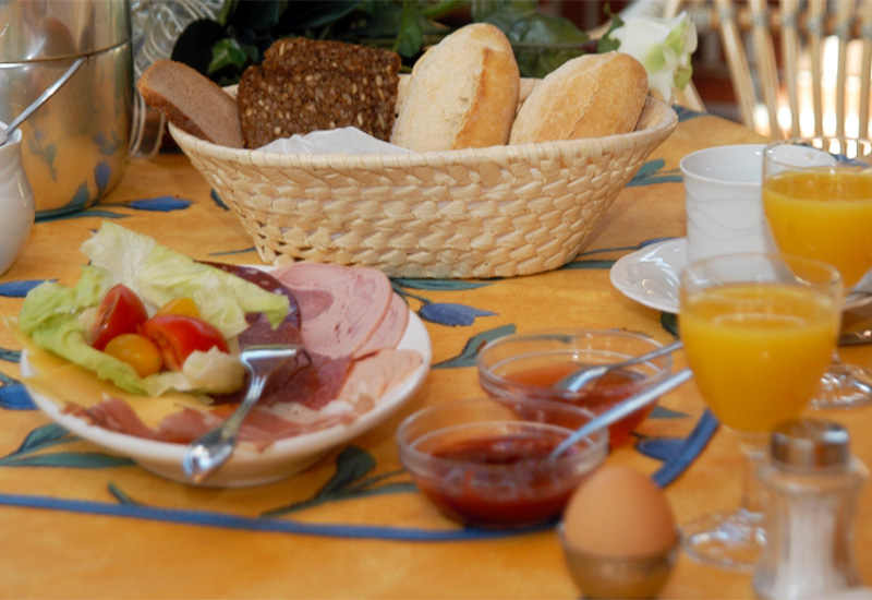 Helga Kallischs Hotel Garni Gourmet Frühstück
